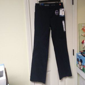 Lee Modern Series Curvy Fit Pants Navy New